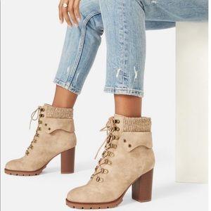 JustFab Keltie Heeled Boots